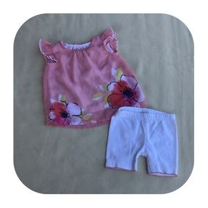 6/$15 0-3M Healthtex girls outfit